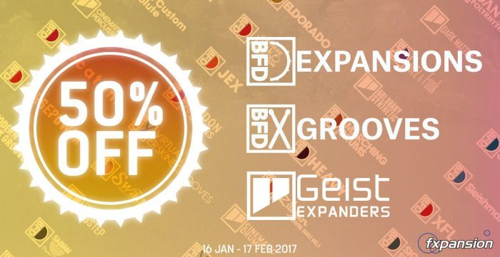 FXpansion BFD Expansions & Geist Expanders Sale
