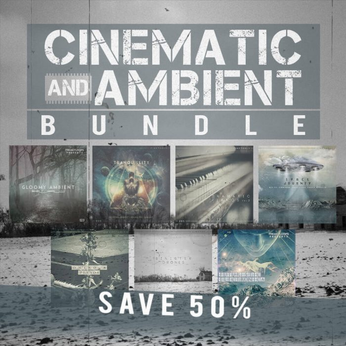 Freaky Loops Cinematic & Ambient Bundle