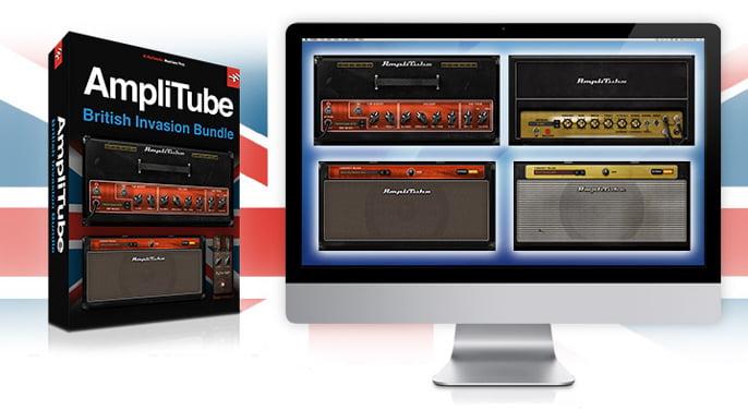 IK Multimedia AmpliTube British Invasion Bundle