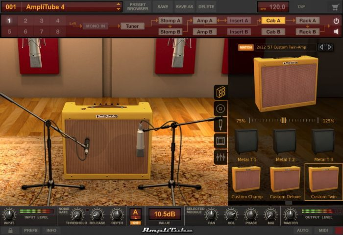 IK Multimedia Fender Collection 2 for AmpliTube screen