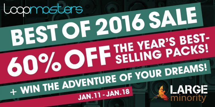 Loopmasters Best Of 2016 Sale