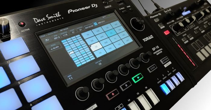 Pioneer DJ TORAIZ SP-16 update