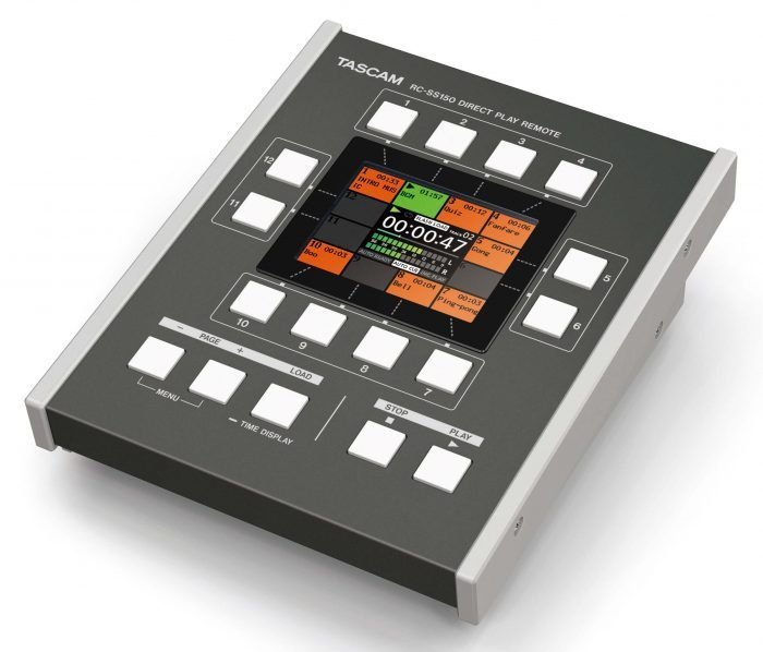 TASCAM RC SS150 controller