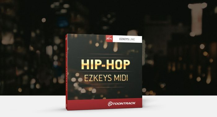 Toontrack Hip Hop EZkeys MIDI