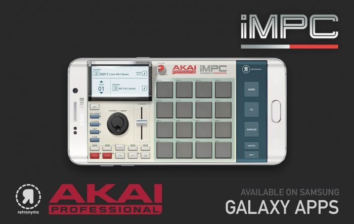 Akai Pro iMPC Samsung Galaxy
