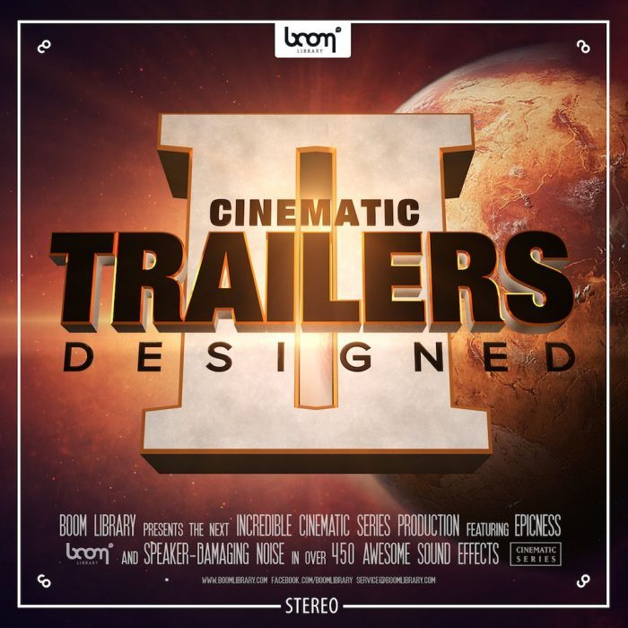 BOOM Library Cinematic Trailers Designed 2