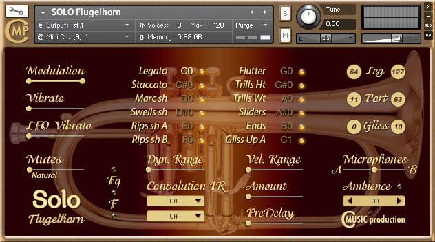 Cmusic Production SOLO Flugelhorn