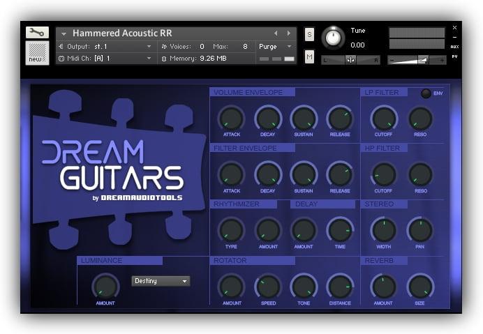 Dream Audio Tools Dream Guitars