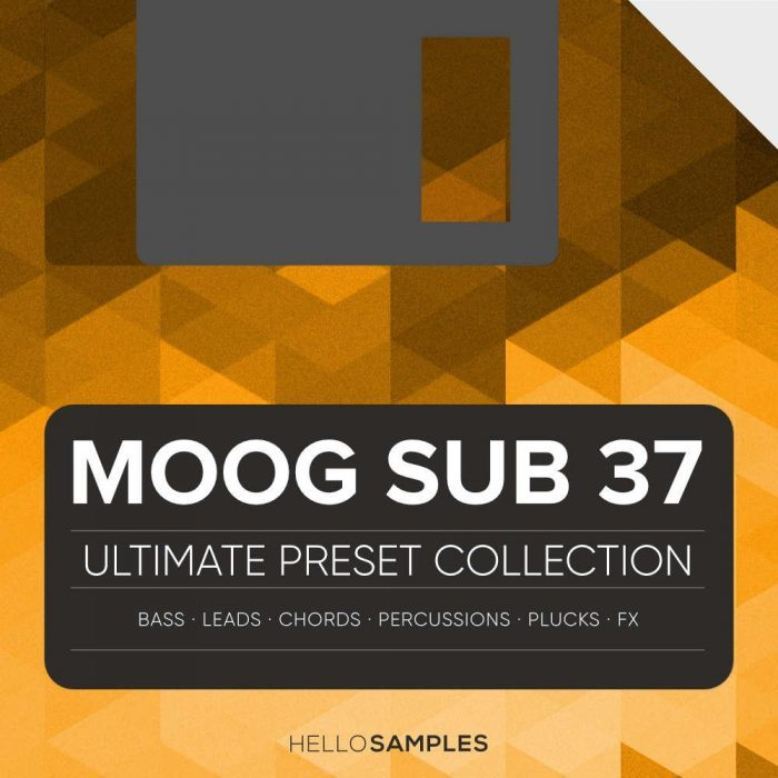 HelloSamples Moog Sub 37 Collection
