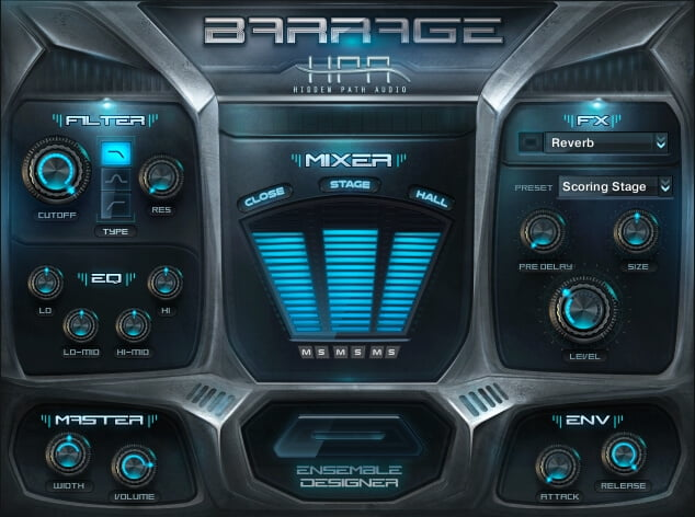 Hidden Path Audio Barrage
