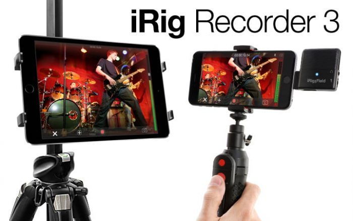 IK Multimedia iRig Recroder 3 feat
