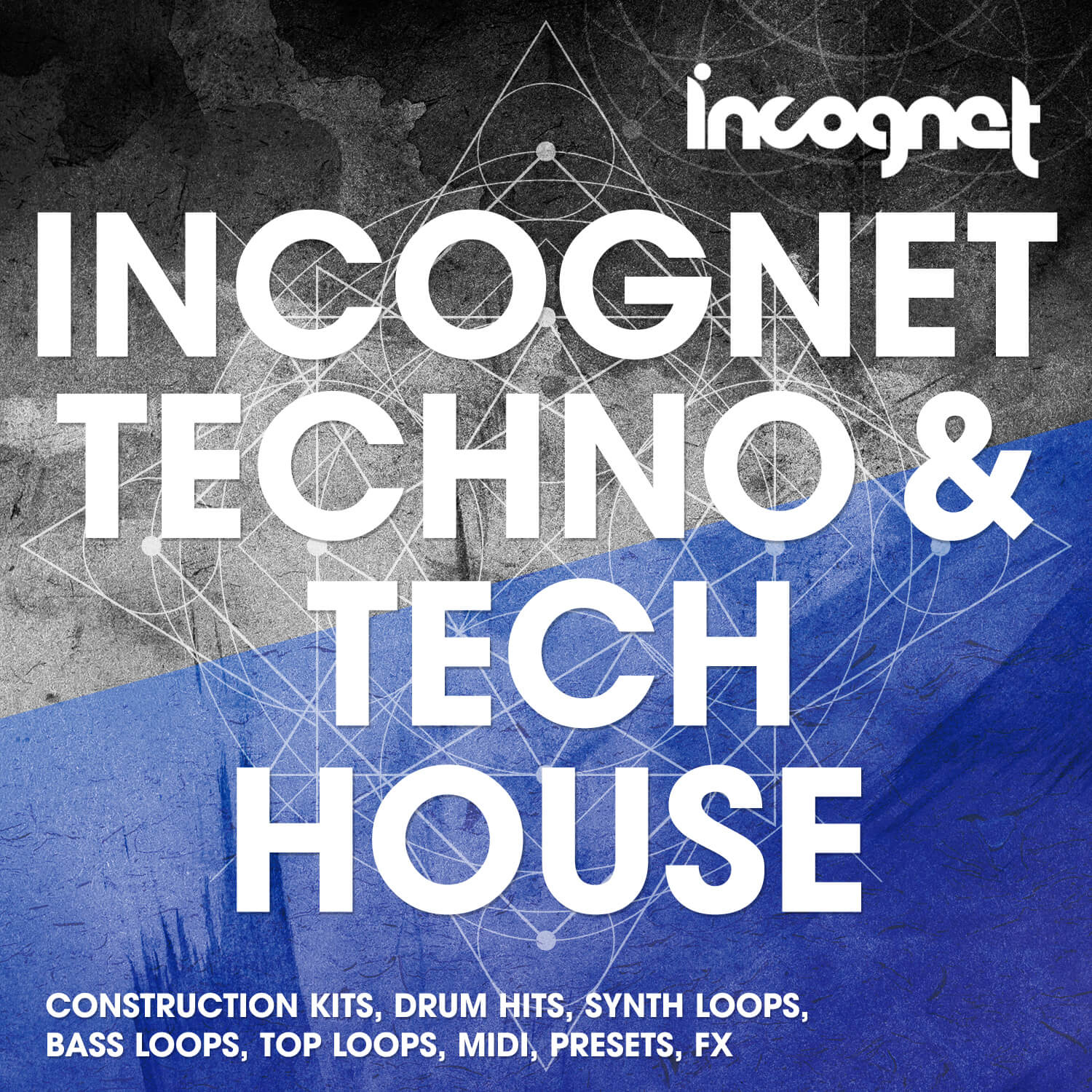 Techno and Tech House sample pack by Incognet released