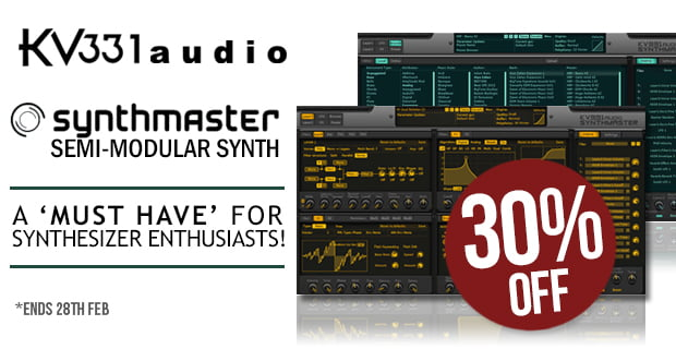 KV331 Audio Synthmaster sale