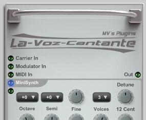 MV's Plugins La Voz Cantate