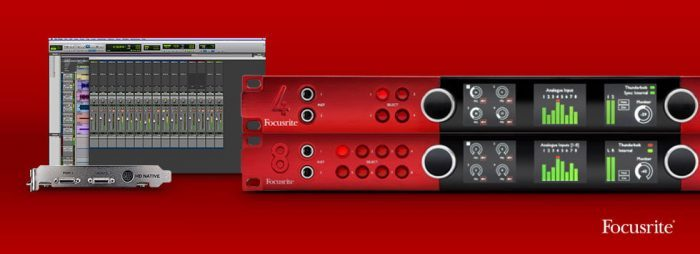 Focusrite Red and Pro Tools | HD