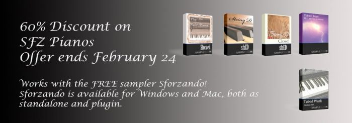 SampleTekk Sfz Pianos sale