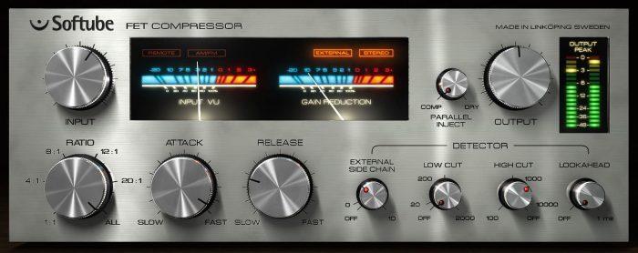 Softube FET Compressor GUI