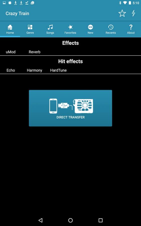 TC Helicon Perform VK app transfer