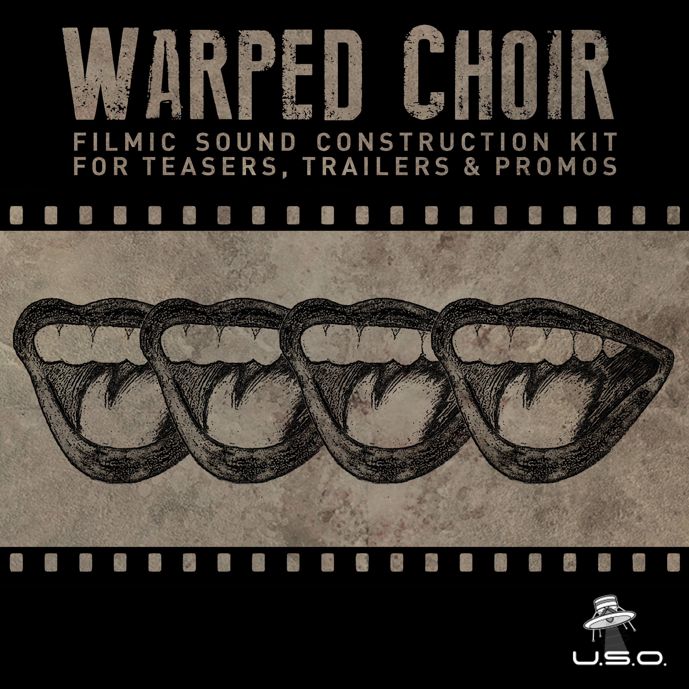 Warped Choir sample library by Unidentified Sound Object