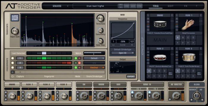 XLN Audio Drum Vault TrigPak 01