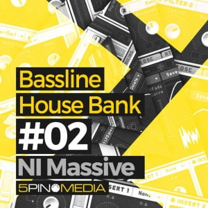 5Pin Media releases Bassline House Bank #02 for NI Massive