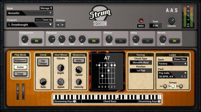AAS Strum Session