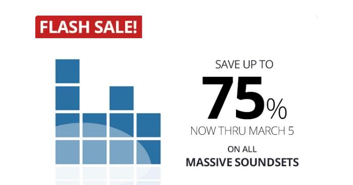 Alonso Sound Massive flash sale