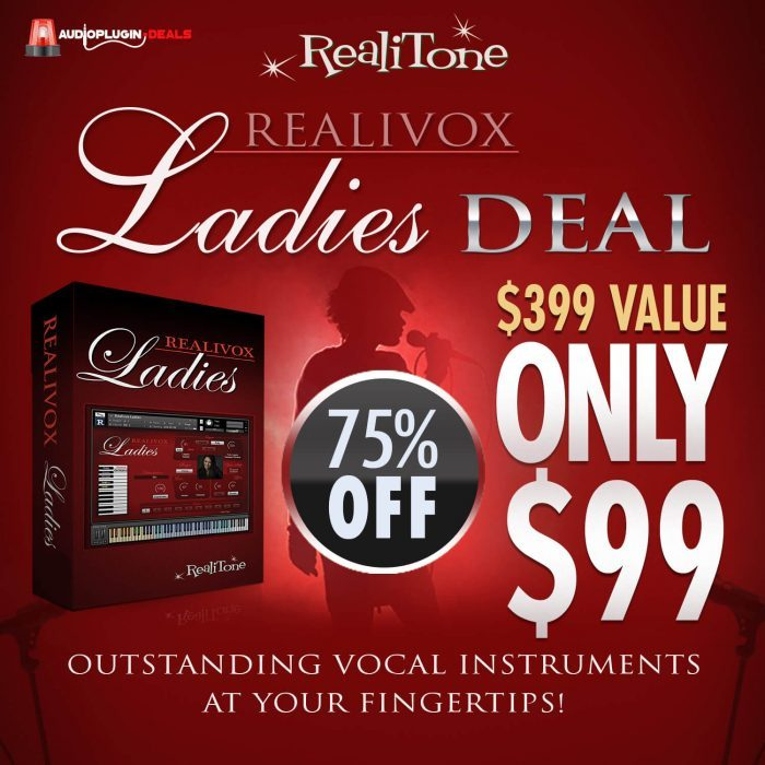 Audio Plugin Deals Realitone Realivox Ladies