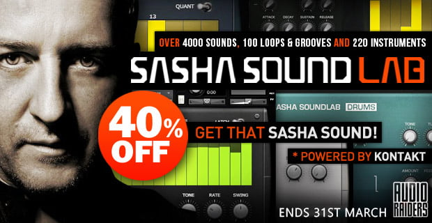 AudioRaiders Sasha Soundlab sale