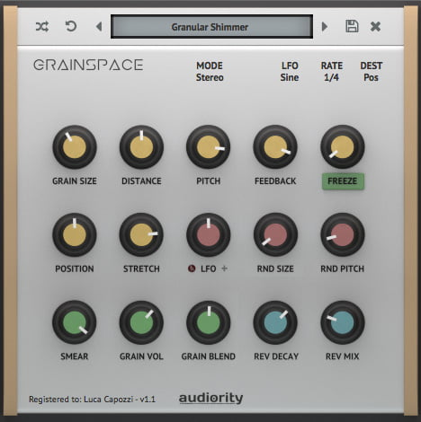 Audiority GrainSpace 1.1