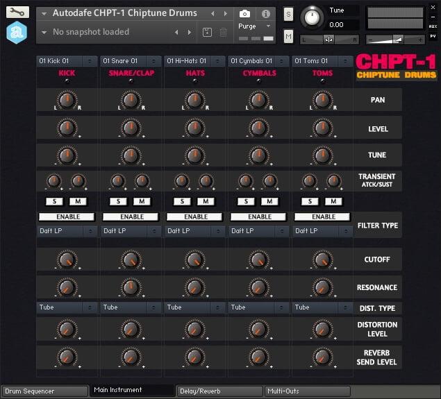 Autodafe CHPT 1 Chiptune Drums
