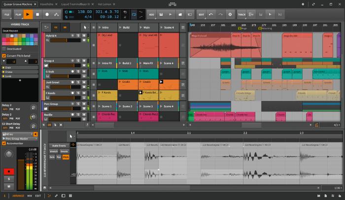 Bitwig Studio 2 screen