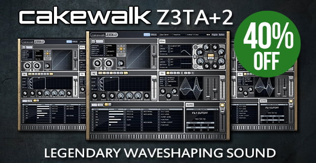 Cakewalk Z3TA+2 sale