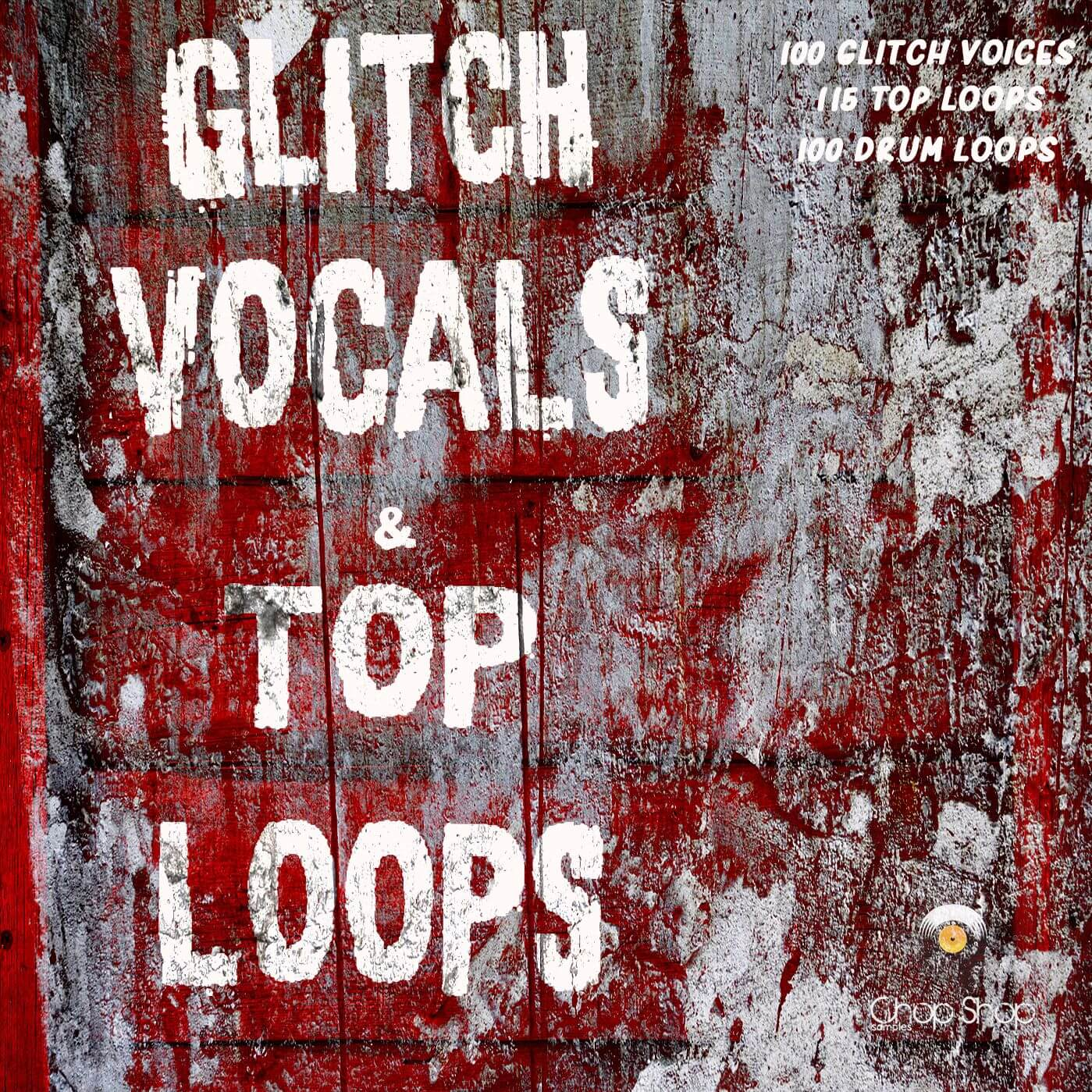 Glitch Vocals & Top Loops and Techno Vocals by Chop Shop Samples