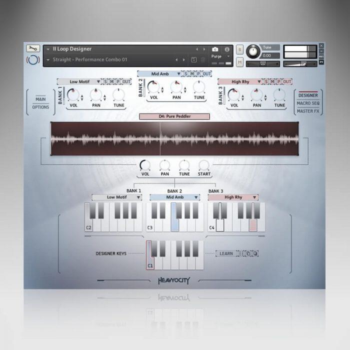 Heavyocity NOVO Modern Strings screen loop