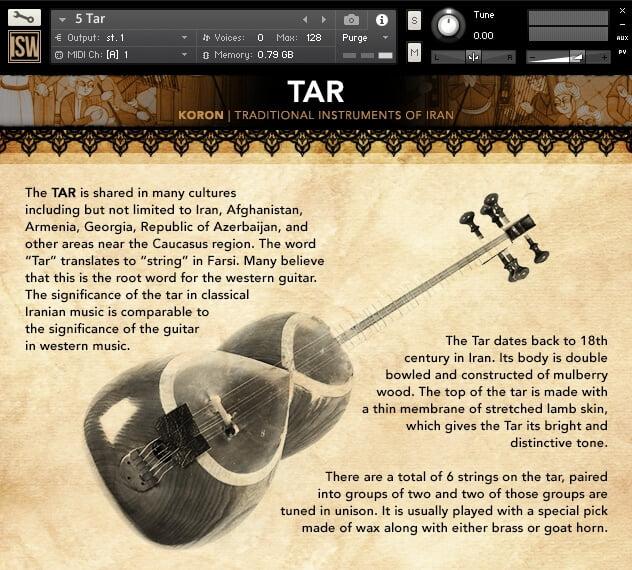 Impact Soundwork Koron Tar