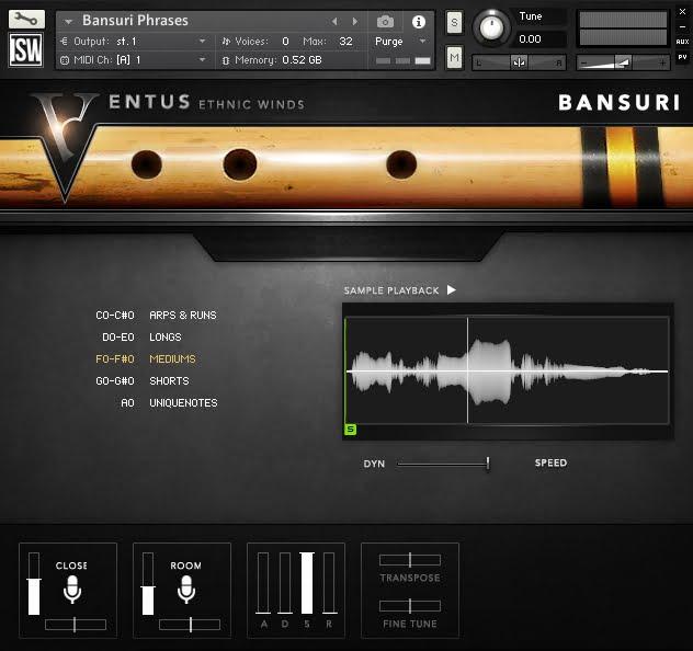 Impact Soundworks Ventus Ethnic Bansuri 02
