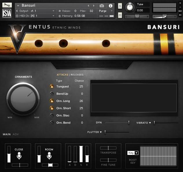 Impact Soundworks Ventus Ethnic Bansuri