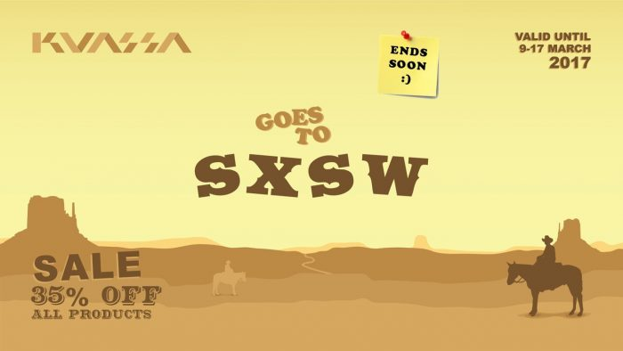 Kuassa SXSW sale