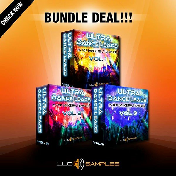 Lucid Samples Ultra Dance Leads Bundle