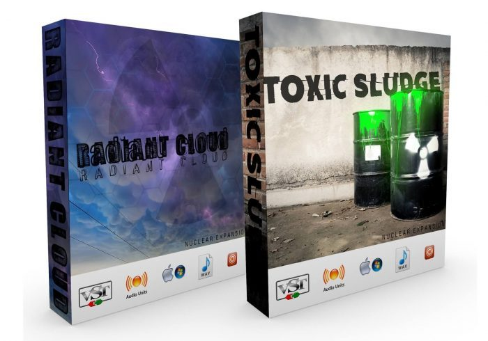 Music Weapons Nucleaur Toxic Sludge & Radiant Cloud