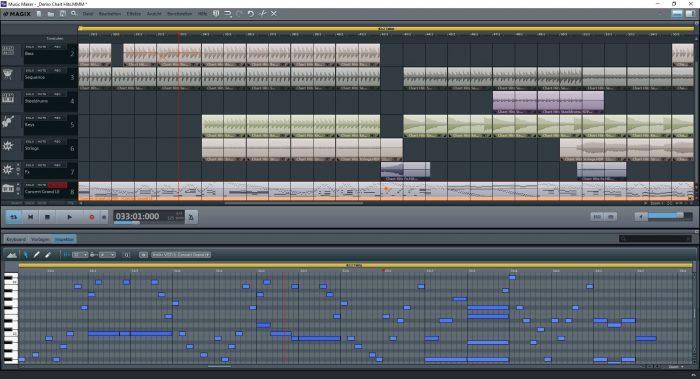 MusicMaker FreeVersion MIDI Editor