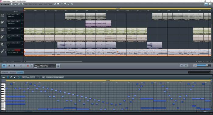 MusicMaker FreeVersion MIDI Editor EN