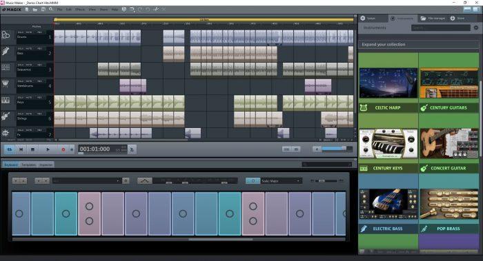 MusicMaker FreeVersion ScreenKeyboard EN