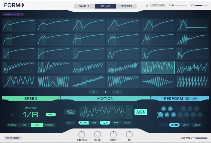Native Instruments Form Motion Curve Presets