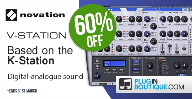 Novation V Station sale