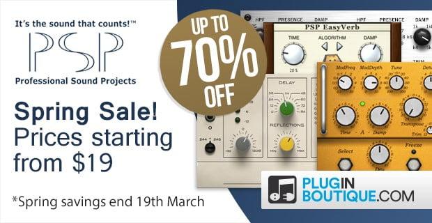 PSP Spring Sale