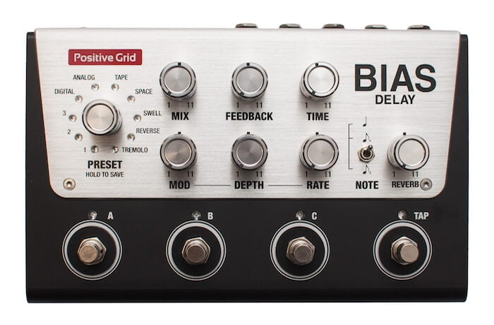 Positive Grid BIAS Delay Pedal