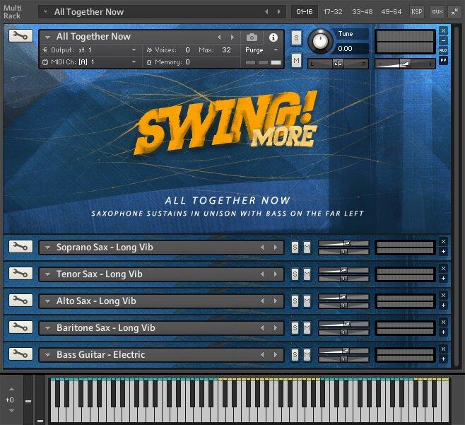 ProjectSAM Swing More! multi