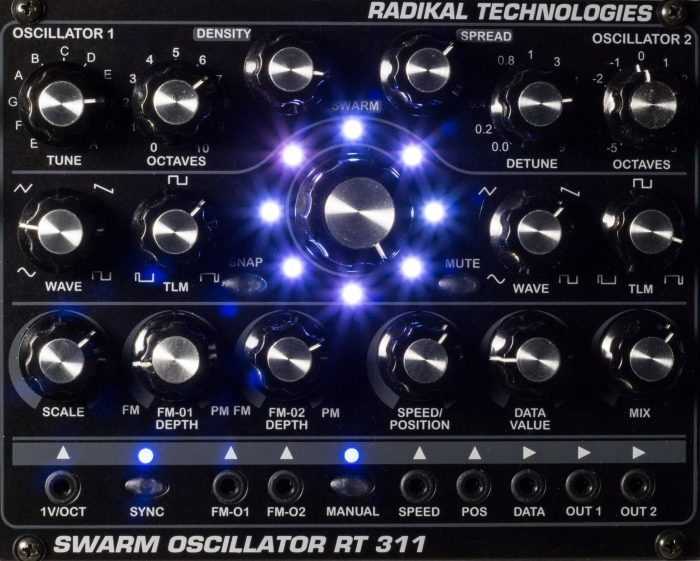 Radikal Technologies RT 311 Swarm Oscillator
